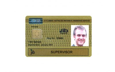 Changes to JIB-PMES supervisor card application criteria